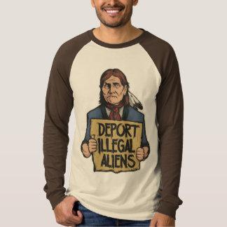 Deporteer het Onwettige Overhemd van Vreemdelingen T Shirt