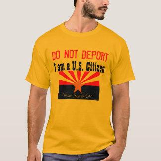 Deporteer niet t shirt