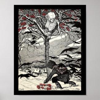 Der Tod im poster Baum