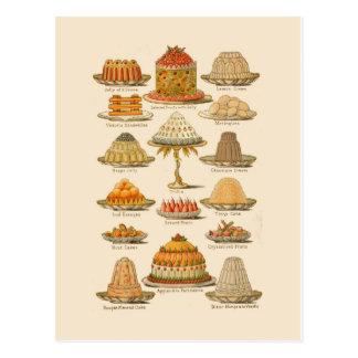 Desserts Briefkaart