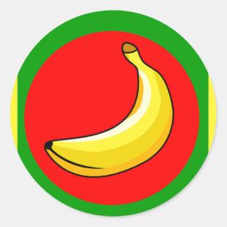 Desserts van het Lot van de Bananen van het fruit Ronde Sticker