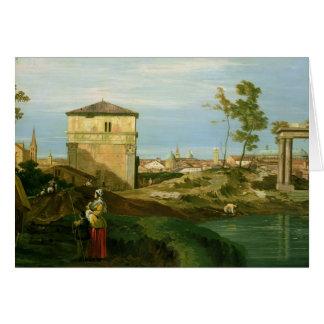 Detail van 'Capriccio met Motieven van Padua Briefkaarten 0