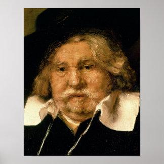 Detail van een Portret van een oud man, 1667 Poster