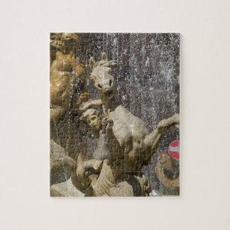 Detail van Fontana d'Artemide, Ortigia Puzzel