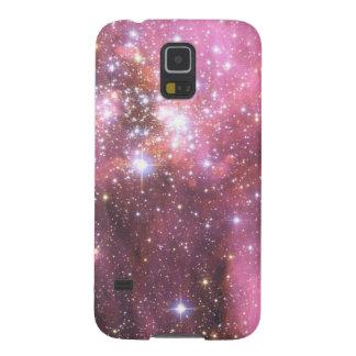 Detail van NGC 346 in Roze Galaxy S5 Hoesje