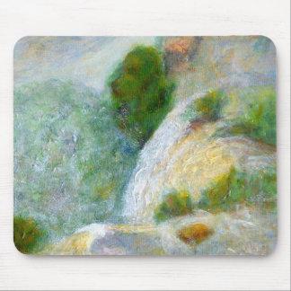 Detail, Waterval in de Mist, Mousepad Muismat