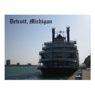 Detroit, Michigan Briefkaart