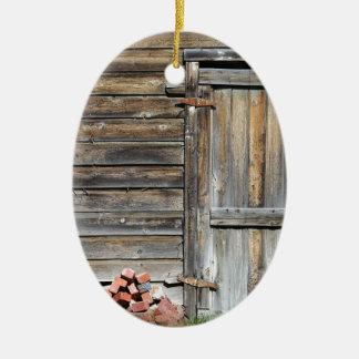 Deur van Kans Keramisch Ovaal Ornament