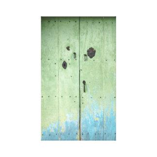 deuren canvas print