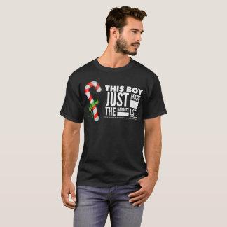 Deze Jongen maakte enkel de Ongehoorzame Lijst - T Shirt