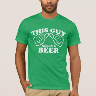 Deze Kerel vergt een Bier T Shirt