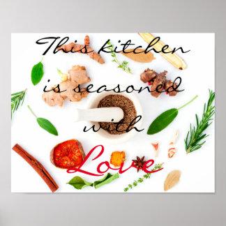 Gepersonaliseerde keuken posters en afdrukken - Gepersonaliseerde keuken ...