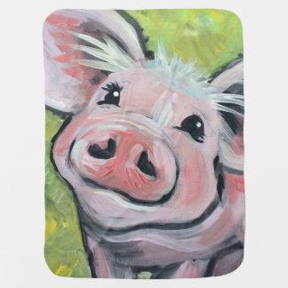 Deze Kleine (Gele) Deken van het Baby Piggy Inbakerdoek