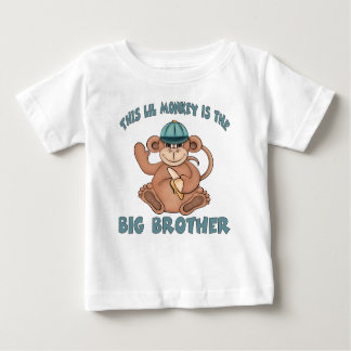 Deze lilaap is de grote broer baby t shirts