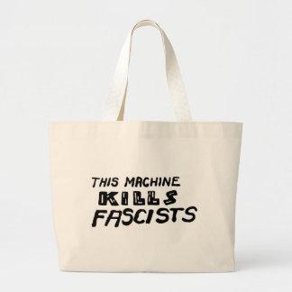 """""""Deze Machine doodt Fascisten """" Jumbo Draagtas"""