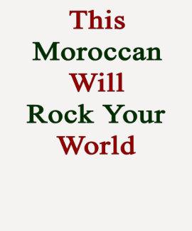 Deze Marokkaan zal Uw Wereld schommelen