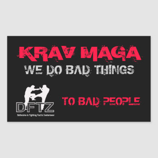 DFTZ STICKER KRAV MAGA