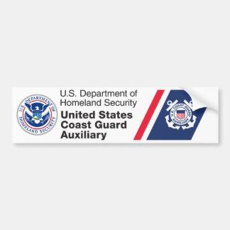DHS - Sticker van de Bumper van de Kustwacht de Hu