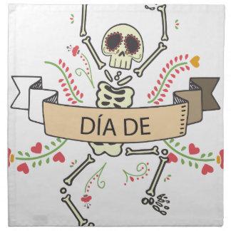 DIA DE Festival van de Doden Servet