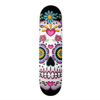 Dia DE los Muerto Sugar schedel 20,0 Cm Skateboard Deck