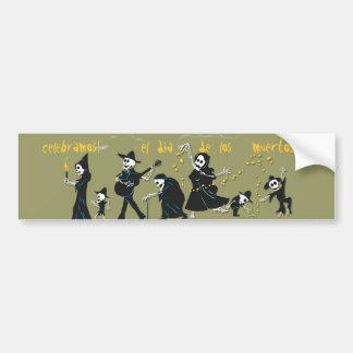 Dia DE Los Muertos - de Sticker van de Bumper