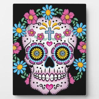 Dia DE los Muertos Skull Platen