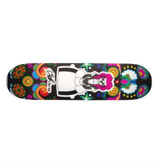 Dia DE Lost Muertos (Dag van de Doden) 20,6 Cm Skateboard Deck