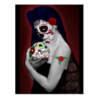 Dia los DE Muertos Briefkaart
