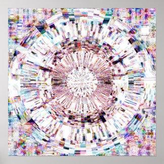 Diamant Mandala 1.1 Poster