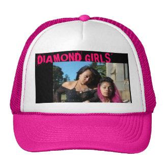 """diamant meisjes 1, de """"MEISJES van de DIAMANT """" Trucker Petten"""