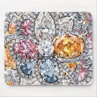 Diamant Puakenikeni Mousepad door Richard Calderon Muismat
