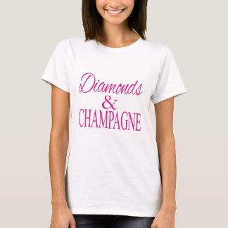 Diamanten & Champagne T Shirt