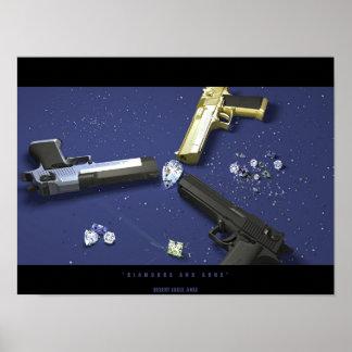 Diamanten en Pistolen Poster