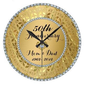 Diamanten & het Gouden 50ste Jubileum van het Ronde Klok Large