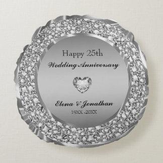 Diamanten & het Zilveren 25ste Jubileum van het Rond Kussen