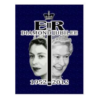 Diamanten jubileum briefkaart