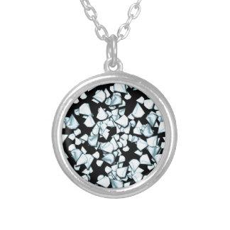 Diamanten Zilver Vergulden Ketting