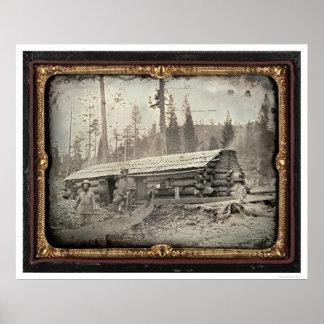 Dichtbij Heuvel van het Brood van de Suiker, 1852 Poster