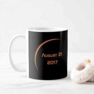 Dichtbij Maximum 21 Augustus, de Gedeeltelijke Koffiemok