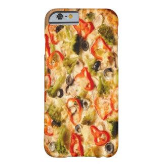 Dichte Omhooggaand van de pizza Barely There iPhone 6 Hoesje