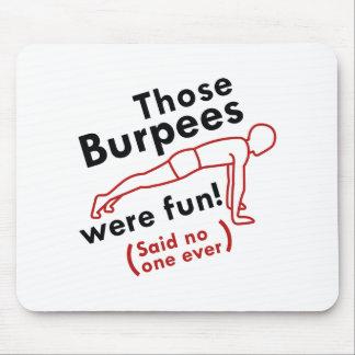 Die Burpees was Pret Muismatten