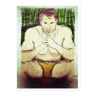 Die Kerel door het Briefkaart van de Pool
