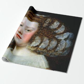 Diego Velázquez María Teresa, Infanta van Spanje Inpakpapier