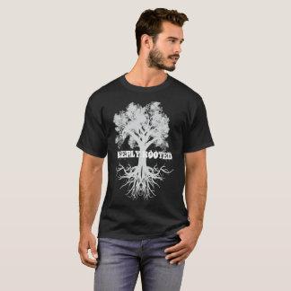 Diep Wortel geschoten Boom van het Omgekeerde van T Shirt