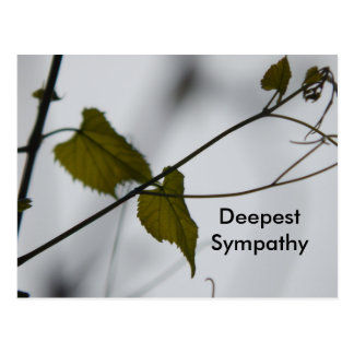 Diepste Sympathie Briefkaart