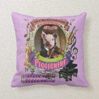 Dierlijke Componist Paganini van het Varken van Sierkussen