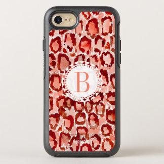 Dierlijke Druk van de Huid van de Luipaard van de OtterBox Symmetry iPhone 8/7 Hoesje