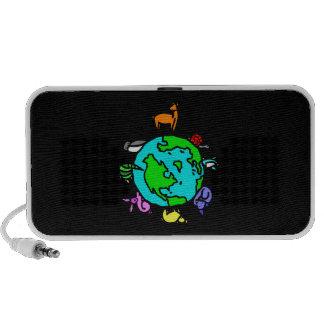Dierlijke Planeet iPod Speakers