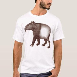 Dierlijke T-shirt - Aziatische of Maleise Tapir