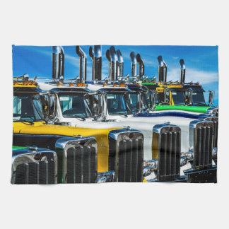 Diesel Vrachtwagens Keukenhanddoeken